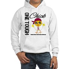 Head Neck Cancer OneToughChick Hoodie