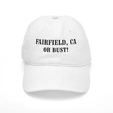 Fairfield or Bust! Baseball Cap
