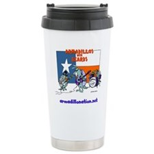 armadillos with beards Travel Mug