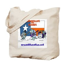 armadillos with beards Tote Bag