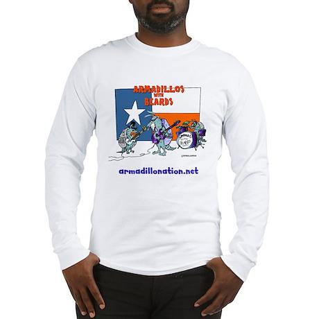 armadillos with beards Long Sleeve T-Shirt