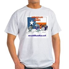 armadillos with beards T-Shirt