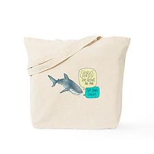 Cute Sharks friends Tote Bag