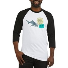 Sharks Are Friends Alternate Baseball Jersey