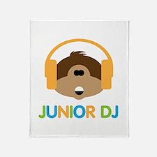 Junior Dj - Monkey - Throw Blanket