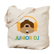 Junior Dj - Monkey - Tote Bag