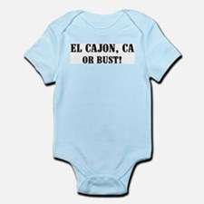 El Cajon or Bust! Infant Creeper