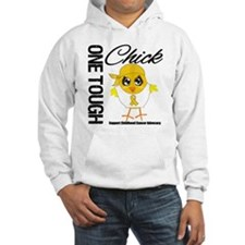 Childhood Cancer OneToughChick Hoodie