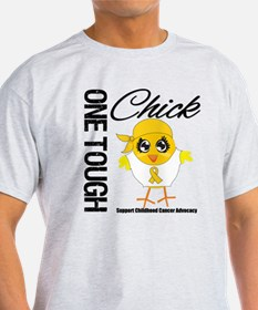 Childhood Cancer OneToughChick T-Shirt