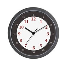 BIG NUMBERS EASY LEARN Hours & Minutes Clock