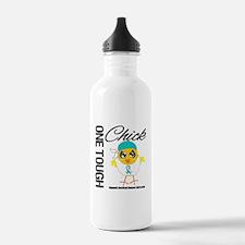 Cervical Cancer OneToughChick Water Bottle