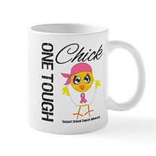 Breast Cancer One Tough Chick Mug