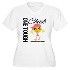 Breast Cancer One Tough Chick T-Shirt