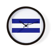 Honduras Flag Wall Clock