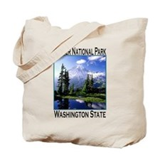 Mt Raineer National Park Tote Bag