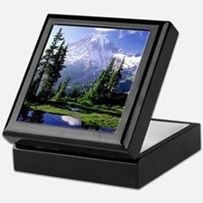 Mt Raineer National Park Keepsake Box
