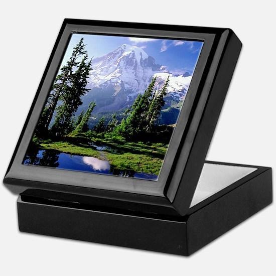 Mt Raineer National Park Keepsake Box