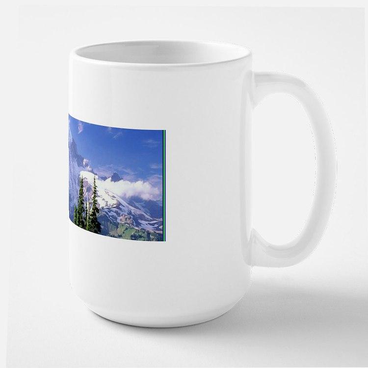 Mt Raineer National Park Large Mug