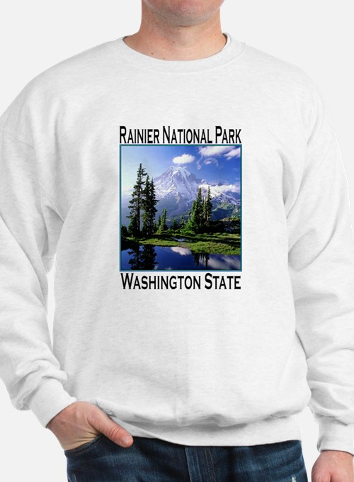 Mt Raineer National Park Sweatshirt