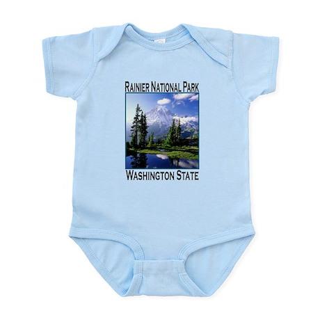 Mt Raineer National Park Infant Bodysuit
