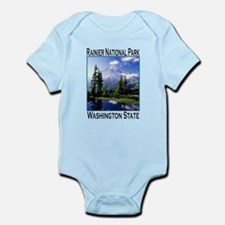 Mt Raineer National Park Infant Bodysuit