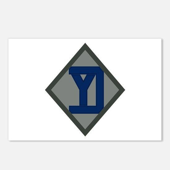 26th Infantry Yankee Div Postcards (Package of 8)