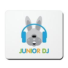 Junior Dj - Bunny - Mousepad