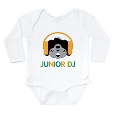 Junior Dj - Puppy - Long Sleeve Infant Bodysuit