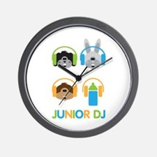 Junior Dj - Puppy - Wall Clock