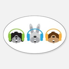 Junior Dj - Puppy - Decal