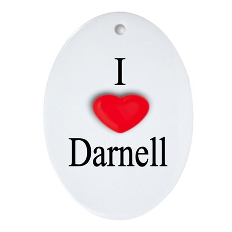 Darnell Oval Ornament