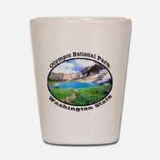 Olympic National Park Shot Glass