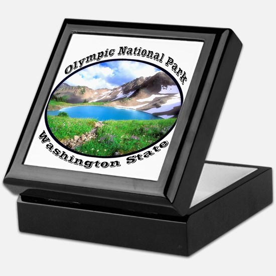 Olympic National Park Keepsake Box