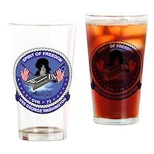 Cute Uss nimitz Drinking Glass