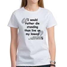 Zapata Standing Quote Tee