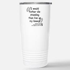 Zapata Standing Quote Travel Mug