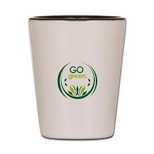 Go Green Shot Glass