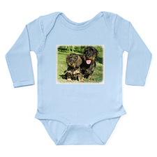 Dachshunds 9F18D-07 Long Sleeve Infant Bodysuit