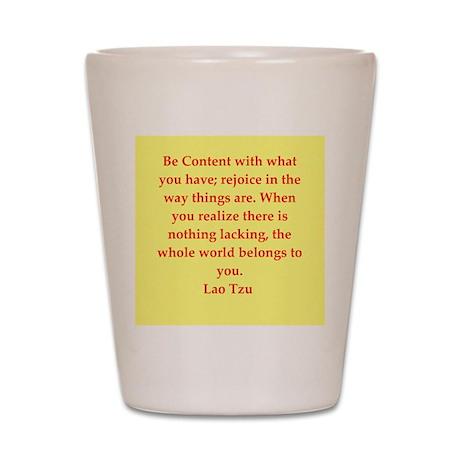 Lao Tzu Shot Glass