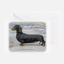 Dachshund 9J79D-07 Greeting Card