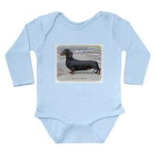 Dachshund 9J79D-07 Long Sleeve Infant Bodysuit
