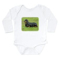 Dachshund 9R086D-021 Long Sleeve Infant Bodysuit