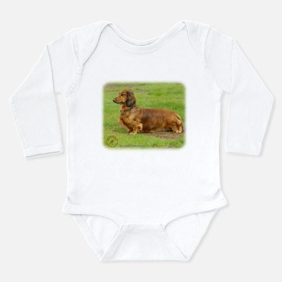Dachshund 9R086D-033 Long Sleeve Infant Bodysuit
