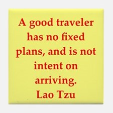 Lao Tzu Tile Coaster