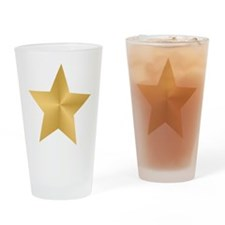 Gold Star Pint Glass