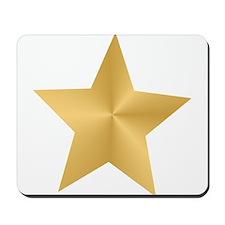 Gold Star Mousepad