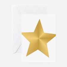 Gold Star Greeting Cards (Pk of 20)