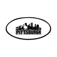 Pittsburgh Skyline Patches