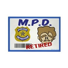 Duck Fowler's MPD Badge Magnet