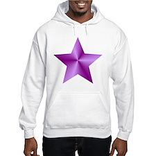 Purple Star Hoodie